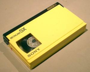 Cassette Betamax, BETA SP, BETA SX