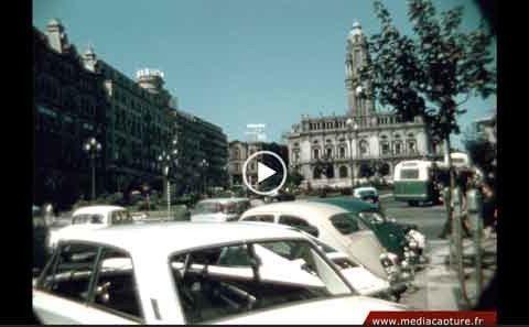 PORTUGAL-ITALIE 1962 Film Pathé 9.5mm numérisé en Ultra HD - 4K
